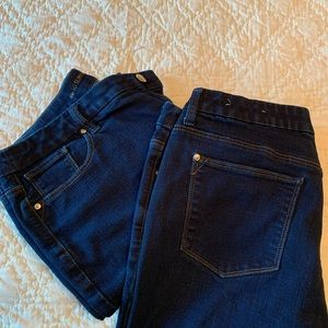 Chico's NWOT Girlfriend So Slimming Jeans 2.5 (14)